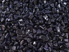 Gemstone Chips 50g Blue Goldstone Loose Beads Jewellery Jewelry FREE POSTAGE
