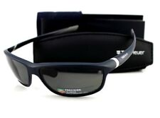 POLARIZED New TAG Heuer 27 Degrees Matte Dark Blue Grey Sunglasses TH 6021 103