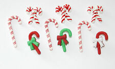 Candy Cane Lane  / Holiday Collection by Buttons Galore / Red - Green & White