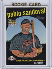ONLY RC~PABLO SANDOVAL 2008 Topps Heritage ROOKIE CARD~'08~WORLD SERIES~MVP~SFG