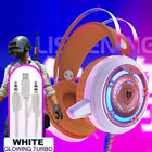 NUBWO N1 computer game headset,White glowing turbo edition