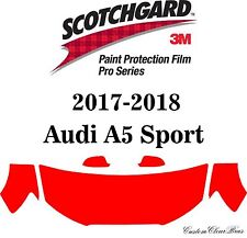 3M Scotchgard Paint Protection Film Pro Series Clear Bra 2017 2018 Audi A5 Sport