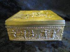 Antique French JB Jewelery Casket Trinket Box
