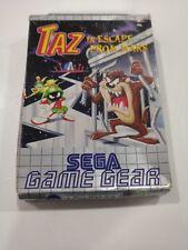 SEGA Game Gear game - Taz in Escape from Mars