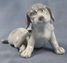 pointer  Porzellanfigur hund hundefigur  dogge porzellanhund Heubach um 1900