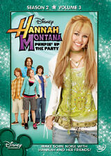 Hannah Montana Season 2 Vol.3 DVD [7 Episodes] Miley Cyrus, Disney Family Fun