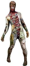 Morph Facelift Adult Costume Zombie Skinsuit Morphsuit Alien Warrior Halloween