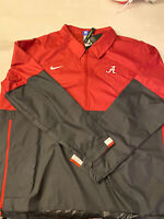 New Nike Alabama Football NCAA On-Field Game Jacket [CQ5093-698] Size: Men's 2XL