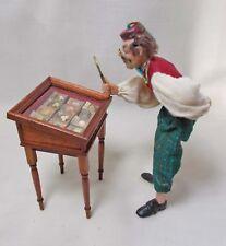 Dolls house miniatures Bird's Egg Collector's Table