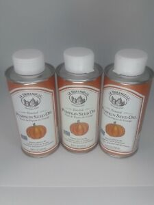 La Tourangelle-Toasted Pumpkin Seed Oils, Pack of 3 - 2 Dented Cans - see pics