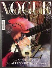 rivista vogue accessory N° 2 del settembre 2011