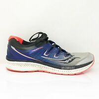 Saucony Mens Triumph ISO 4 S20413-35 Blue Black Running Shoes Lace Up Size 9.5