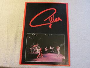 Gillan : RARE: 1981 - Tour programme