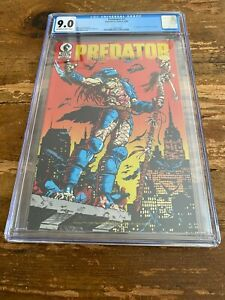 Predator #1 CGC 9.0 1st Appearance of Predator in comics Dark Horse Comics 1989
