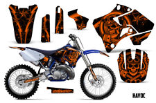 Yamaha YZ125 YZ250 Dirt Bike Graphic Sticker Kit Decal Wrap MX 1996-2001 HAVOC O