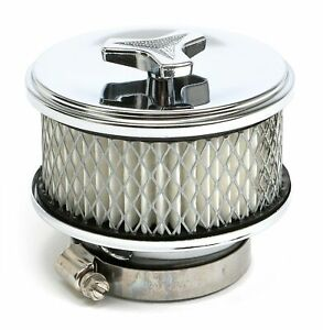 """4"""" Deep Dish """"Mini"""" Air Cleaner Kit with Flat Base, Paper Element and Wing Nut"""