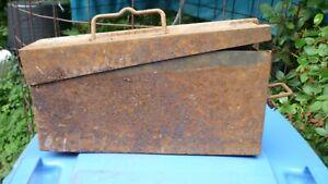 MG-Gurt-Kasten, Scheunenfund mit feldgrauer Restfarbe