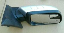 2011 thru 2014 Ford Edge Passenger Right Side Door Mirror Heated (Silver)
