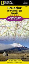 Ecuador & Galapagos Islands Adventure Travel Map National Geographic Waterproof