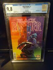 Black Panther #2 CGC 9.8 1st App Killmonger Symbiote 1:25 Variant Marvel 2018