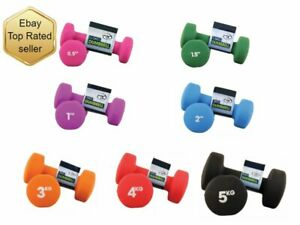 High quality Neoprene cast iron Dumbbells 0.5-5kg