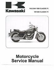 Kawasaki service manual 2005 Vulcan 1500 Classic Fi, VN 1500 Classic Fi