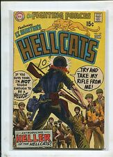 HELLCATS #121 (4.0 WATER DAMAGE) 1ST HELLER!  1969