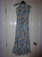 Gerard Darel Silk Halterneck Dress Size 38 (UK size 10)