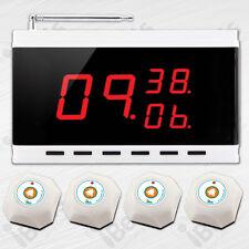 Drahtloser Schwesternruf System: 4x Rufknopf APE560 + Signaltafel APE9300 - Weiß