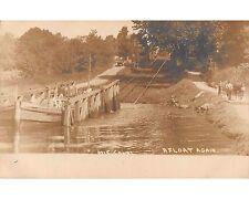 ST345c: MORRIS CANAL PLANE 1 EAST HARRIS UDB RPPC Postcard
