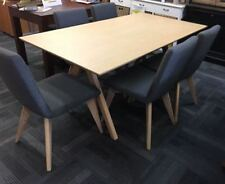 Oak Contemporary Dining Furniture Sets with 7 Pieces