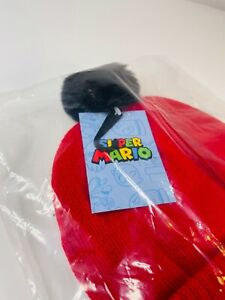Official Genuine Super Mario Hat - GAME Collectors Exclusive - BRAND NEW SEALED