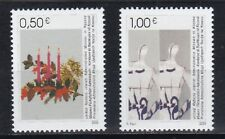Kosovo 2003 postfrisch MiNr. 16-17 Weihnachten und Neujahr.