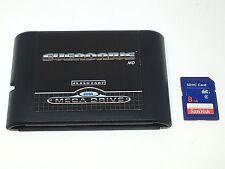 Sega MegaDrive/Genesis EverDrive MD Game Cartridge+8GB SD w/ 1000+Games