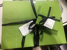 Set 4 Green Leaf Table Placemats 4 Coaster Faux Leather NEW Summer Garden Party