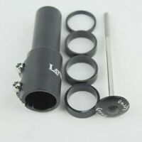"MTB Handlebar Bicycle Bike Stem Riser 11/8""117mm Aluminum Extender Head Adaptor"