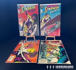 DC Starman Issues 1-4 (1988) Bagged & Boarded