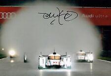 Tom KRISTENSEN SIGNED Le Mans Driver Audi AUTOGRAPH 12x8 Photo AFTAL COA