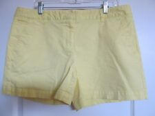 LAND'S END Shorts - Lemon Yellow (14)