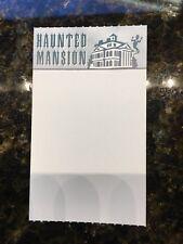 "DISNEYLAND HAUNTED MANSION FASTPASS FAST PASS ""BLANK"""