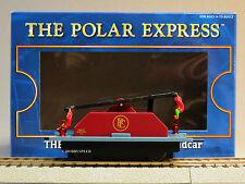LIONEL AMERICAN FLYER POLAR EXPRESS ELF HANDCAR S GAUGE train cart 6-49078 NEW