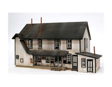 HO Scale Banta Modelworks OILTON CLUB SALOON BOARDING Laser Cut Kit Item #2112