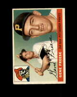 Gene Freese Rookie Card 1955 Topps #205 Pittsburgh Pirates