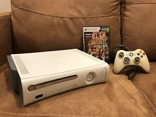 Xbox 360 Console Only Tested W/ 60 Gb Hard Drive, Wired Controller, Game