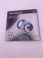 SONY PLAYSTATION 2 PS2 NETWORK ADAPTER START-UP DISC Complete
