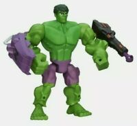 NEW RARE Hasbro Marvel Super Hero Masher Green Hulk Figure with Firing Missile