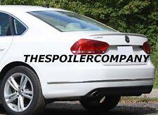 PRE-PAINTED LIP SPOILER FOR 2012-2017 VW VOLKSWAGEN PASSAT- NO DRILLING REQUIRED