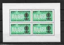 Hungary - 1962 - Fight against Malaria - Mnh Souvenir Sheet - Scott #1461A