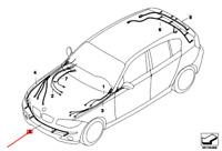 BMW 1 E87 Avant Pdc Câblage Set 61126962581 6962581 Neuf Original