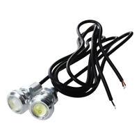 2 1.5W LED High Power Eagle Eye Rear Back Up Reverse Tail White Light Lamp X2H5